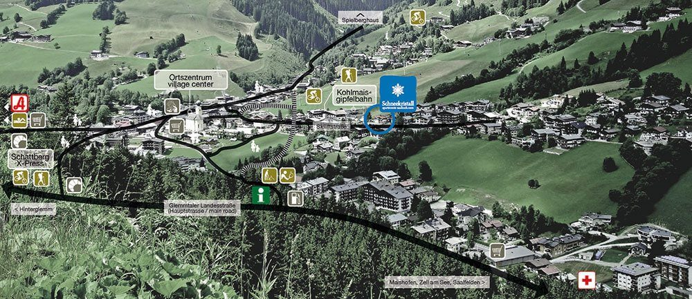 Plan - Schneekristall Apartments in Saalbach